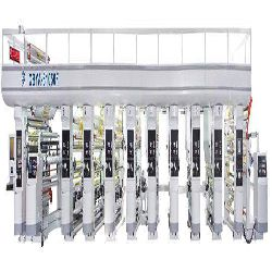 Ideal type gravure printing machine