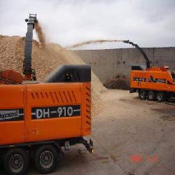 Wood chips, round wood, pellets