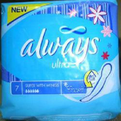 always sanitary pads 7pcs