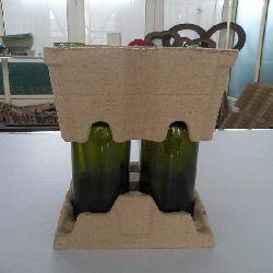 Wine holder-wine tray-bottle holder