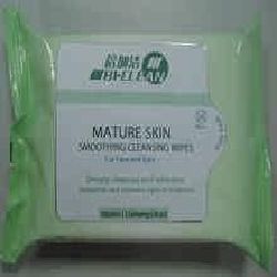Mature Skin Face Cleansing Wipe