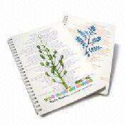 A5 PP Spiral Notebooks