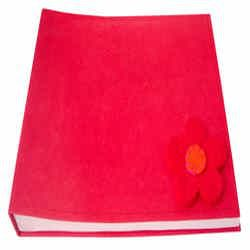 Stitched Album Rouge color