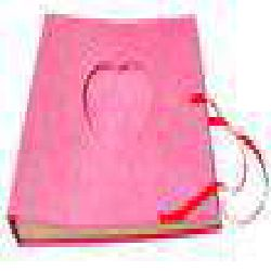 Heart Album Rose color