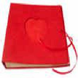 Handmade Heart Album Red color