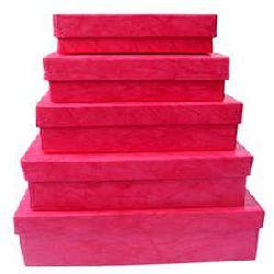 Gift Box Fuschia Color