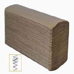 Towel paper brown multifold/Z fold