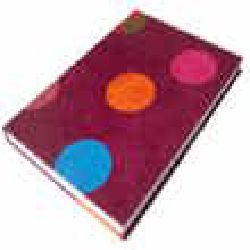 Bubble Note Book Maroon Color