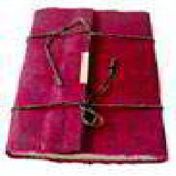 Handmade Travel Journal Maroon Color