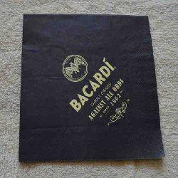 Printed Napkin / Serviette Black Napkins