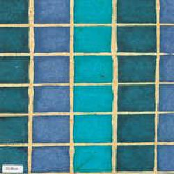 Nepali Batik Paper Sheet -  Bleu Color