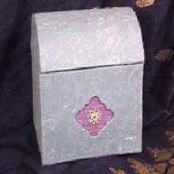 Silk Paper Oval Box