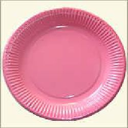 Paper Plate - Pink Color
