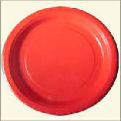 Paper Plate - Red Color