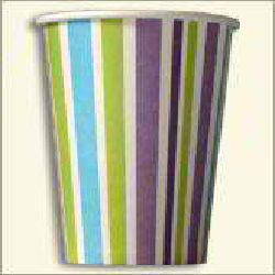 Paper Cup Multi Color Line
