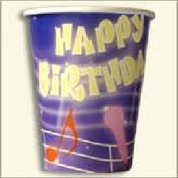 Paper Cup for Birth Day Party