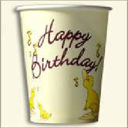 Birth Day Paper Cup
