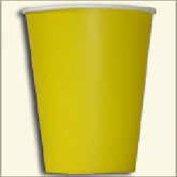 Paper Cup - Yellow Color