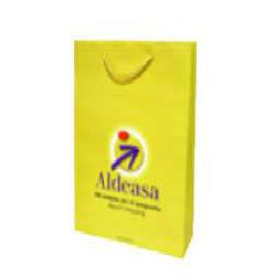 Matt Lamination Bag - Yellow Color
