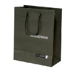 Hot Stamping Paper Bag - DarkGreen Color