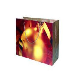 Hot Stamping Paper Bag - Gold Color
