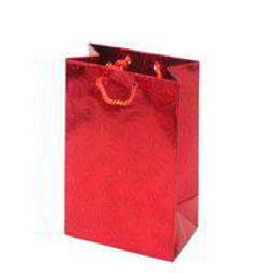 Laser Film Paper Bag - Red Color