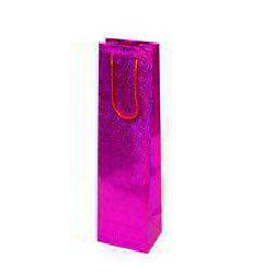 Laser Film Paper Bag - Magenta Color