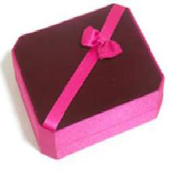 Jewelry Box - Marron and Rose Color