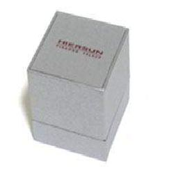 Square Jewelry Box - Light Gray Color
