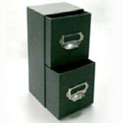 Drawer Box - Dark Green Color