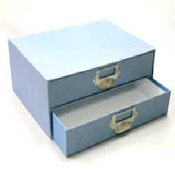 Drawer Box - Sky Blue Color