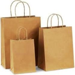 Twisted or Flat Handle Paper Bags