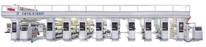 Ideal type gravure printing machine