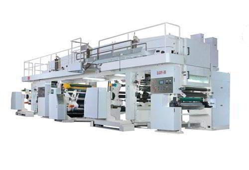 Dry-lamination machine