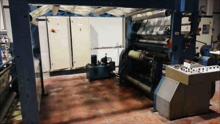 Overhauled Slitter and Rewinder