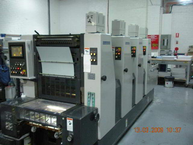 4 Colour Printing Machine for sale