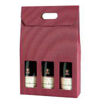 Paper wine box
