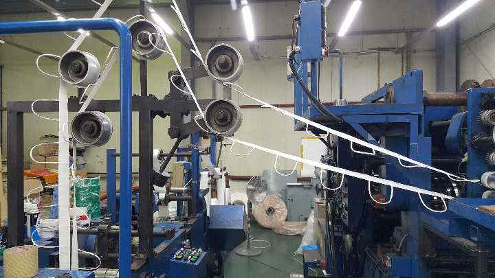 Sheet Fed SOS Bag Making Machine with twisted rope handle