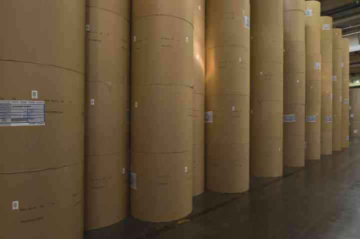 Kraft Paper - Medium Fluting, Test Liner & Core Board