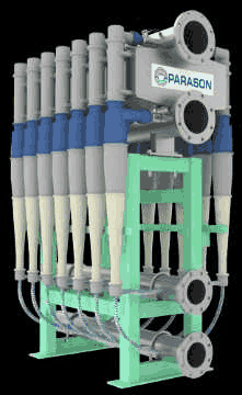 Low Consistency Cleaner for Pulp & Paper Mills