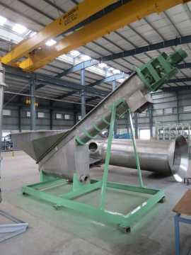Dehydrating Screw Conveyor