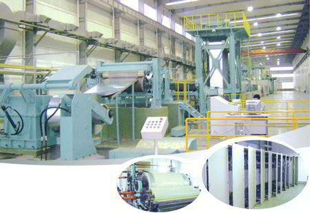 color coating line samway