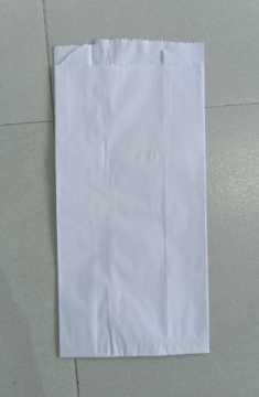 White Bleached Paper Pouches