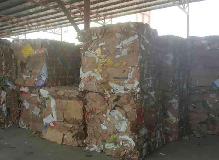 Old Corrugated Containers (OCC) Waste Paper