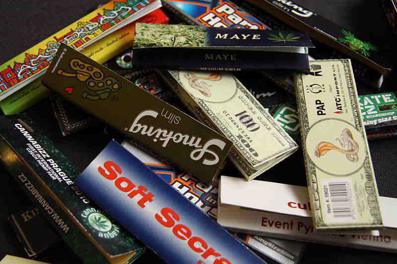 All kinds of cigarette paper