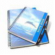 A5 and B5 Spiral Notebooks