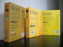 Gold star paper  A4 Copy Paper 80gsm/75g