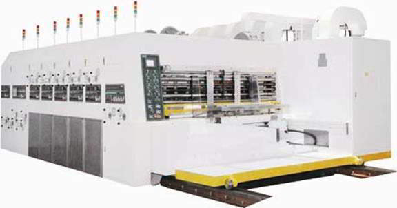 Printer Slotter With Rotary Die Cutter S