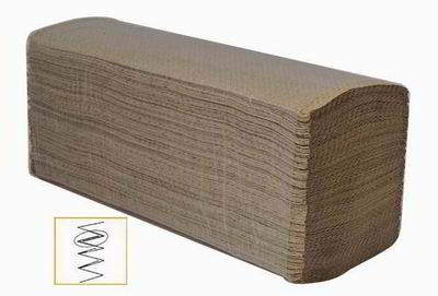 Towel paper brown multifold/Z fold