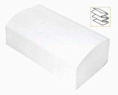 Towel paper white single fold/V fold